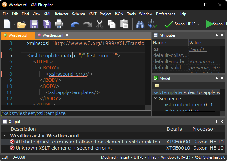 XML Editor - XMLBlueprint